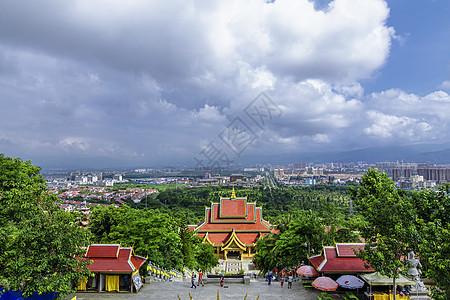 西双版纳大佛寺公园图片