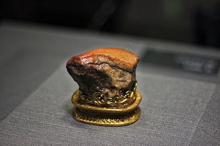 台北国立故宫镇馆之宝肉形石图片