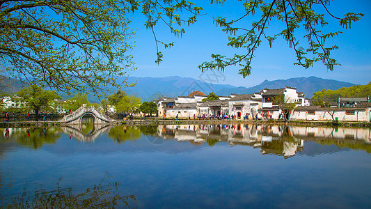 宏村古村落图片