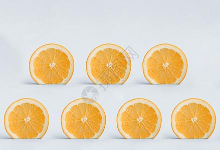 创意水果橙子图片