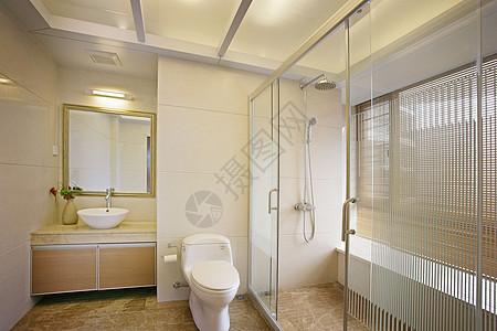 洗手台卫生间图片