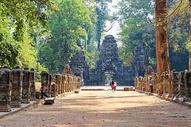 柬埔寨吴哥窟通王城图片