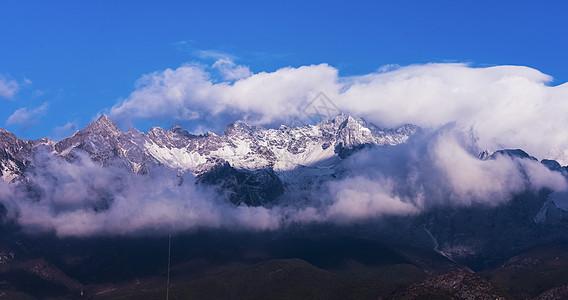 神秘的玉龙雪山图片