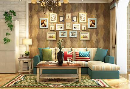 后现代室内家居图片