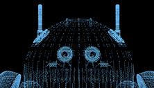 科技机器人背景图片