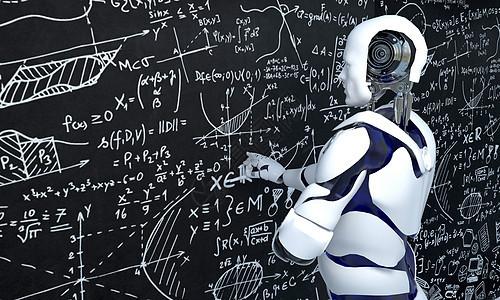 科技智能教育背景图片