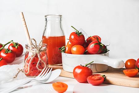 有机连枝番茄千禧番茄小西红柿图片