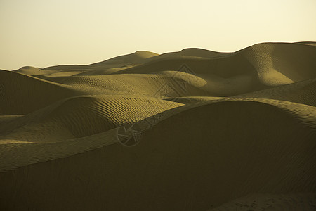 新疆塔克拉玛干沙漠线条纹理素材图片