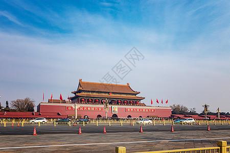天安门广场前图片