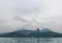 阴天的西湖雷峰塔图片