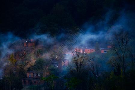 河南新县小山村图片