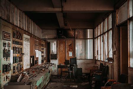 旧工厂废墟图片