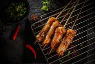 烧烤五花肉图片
