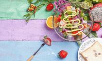 果蔬沙拉图片