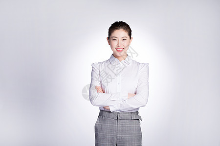 自信的商务女性图片