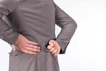 上班族职业病腰酸背痛图片