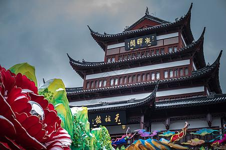 上海城隍庙天裕楼图片