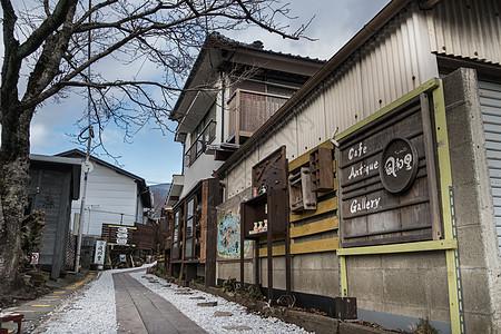 日本大分汤布院温泉小镇图片