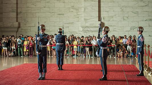 台北总统府换岗仪式图片