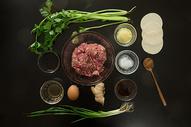 饺子食材图图片