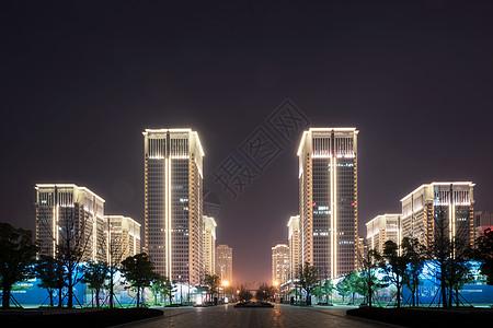 武汉中央商务区大楼图片