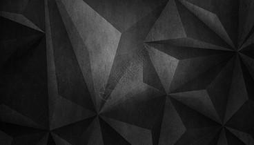 黑色立体创意背景图片