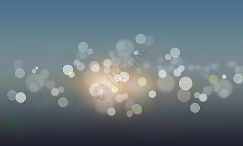 光晕背景图片