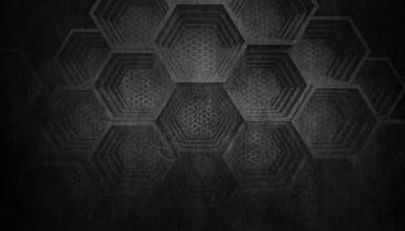 黑色蜂窝背景图片