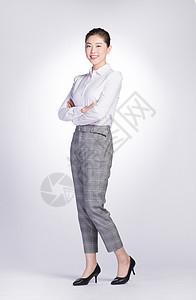 商务女性站姿图片