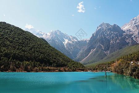 玉龙雪山蓝月谷图片