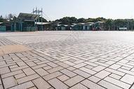 广场地面背景图片