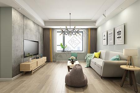 现代客厅空间图片