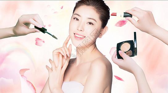 美容化妆海报图片