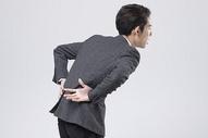 腰痛的职业男性图片