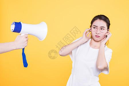 大学生拒绝喇叭噪音图片