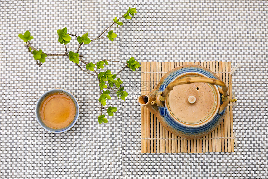 一套日式茶具图片