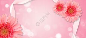 粉色唯美背景图片