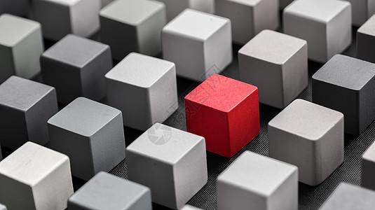 独特的方块图片