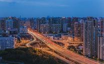 上海城市交通高架桥图片