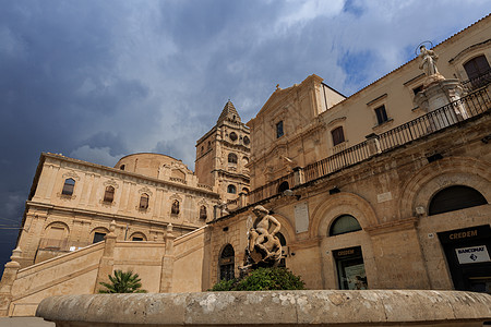 意大利巴洛克风格城市建筑图片
