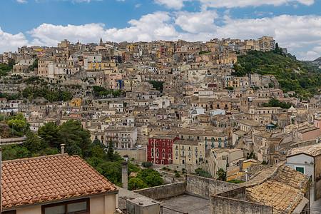 意大利旅游胜地西西里岛建筑风光图片