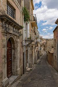 意大利旅游小镇街巷图片