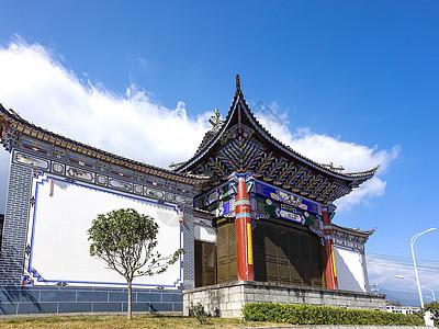 云南大理白族建筑图片