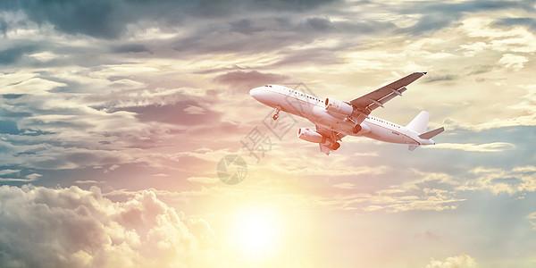 科技航空背景图片