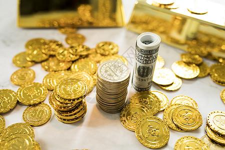 金融钱币图片