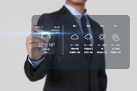 科技天气预测图片