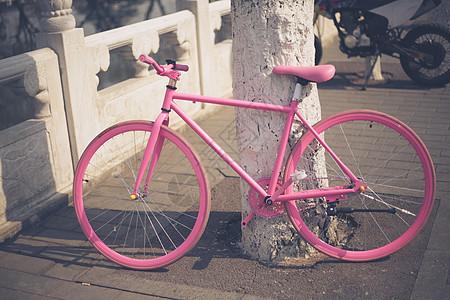 什刹海的自行车图片