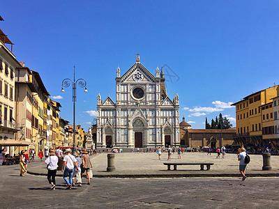 意大利佛罗伦萨街头教堂图片