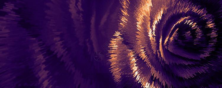 立体金色背景图片