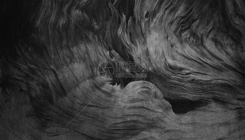 黑色纹理创意背景图片